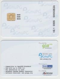 OpenPGP Smart Card V3.3 + MiFare DESFire