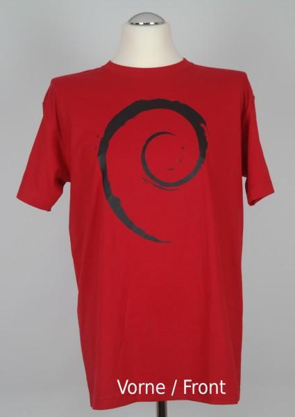 T-Shirt debian rules ROT