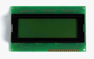 LCD 4x20 Zeichen, LED