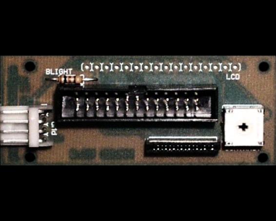 LCD Adapterplatine