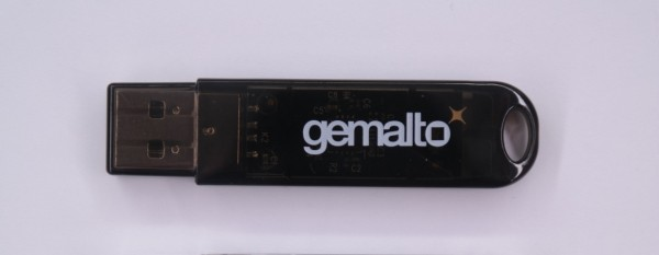 Gemalto Shell Token - black