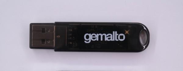 Gemalto Shell Token - black